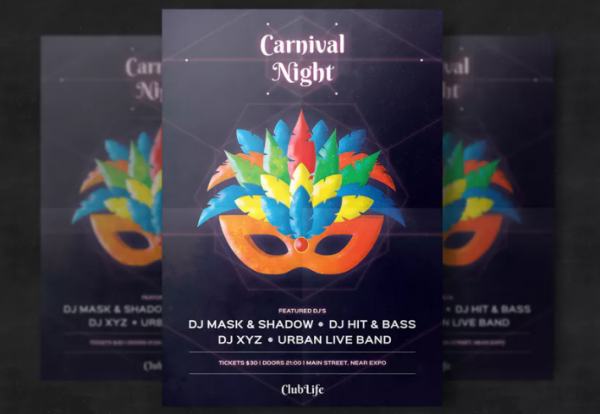 a4_a5_size_carnival_flyer_template