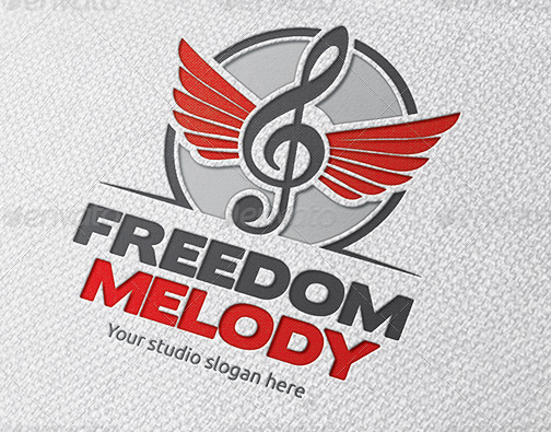 freedom_music_logo_template