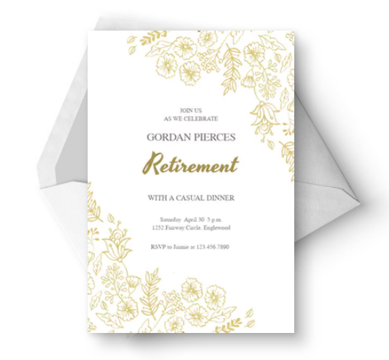 15 Excellent Flyer Templates For Your Next Event: 15+ Retirement Party Invitation & Flyer Templates