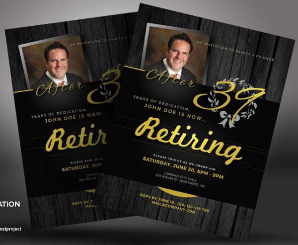 us_letter_a4_retirement_invitation_flyers