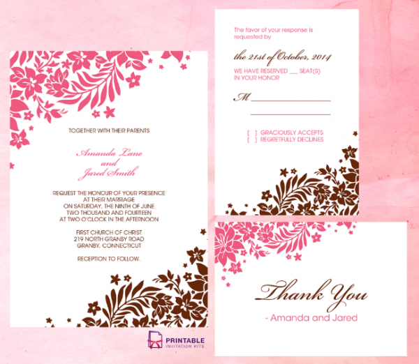 foliage_borders_invitation_rsvp_and_thank_you_cards