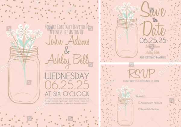 pink_mason_jar_wedding_invitation_card_design