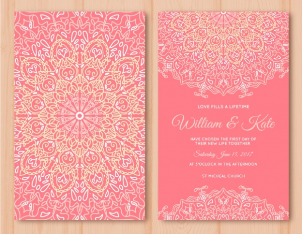 pink_wedding_card_with_mandala_design