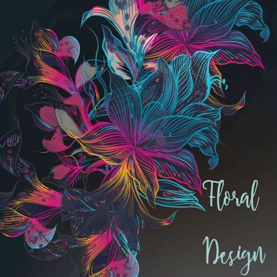 multicolor_floral_design