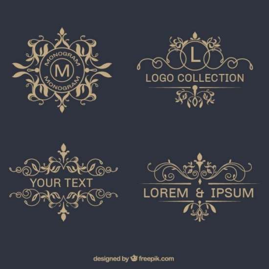 pack_of_elegant_ornamental_logos