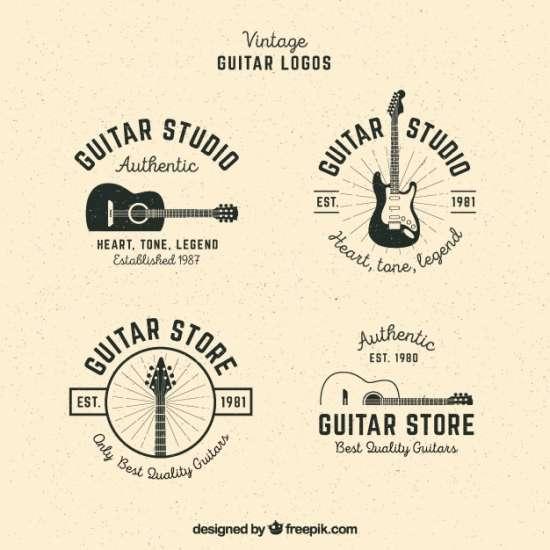 pack_of_guitar_logos_in_vintage_style