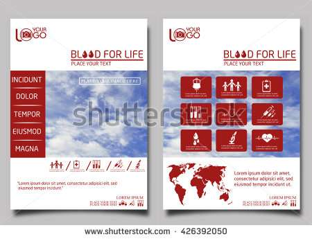 blood_donor_flyer_design_template_vector