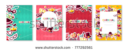carnival_colorful_posters_set_flyer_or_invitation_design