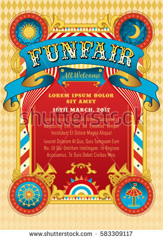 funfair_vector_template_circus_tent