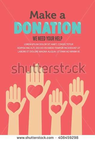 flat_charity_and_donation_poster_set_design