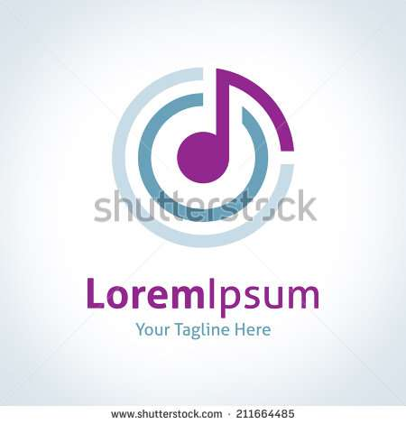 music_connecting_the_world_logo_logotype_vector_icon