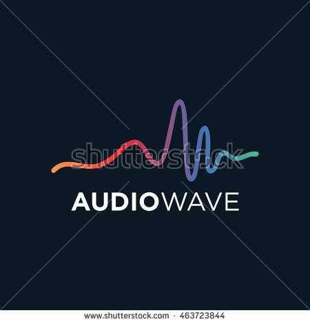 music_logo_concept_sound_wave_audio_technology
