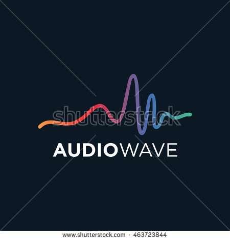 music_logo_concept_sound_wave_audio_technology