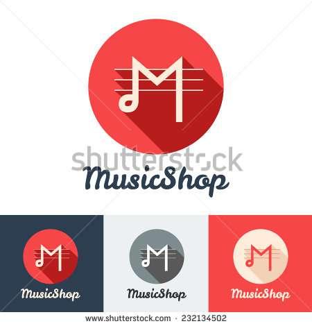 vector_flat_modern_minimalistic_music_shop_or_studio_logo_set
