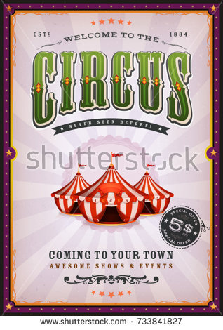 vintage_circus_poster_with_sunbeams_illustration_of_a_vintage_circus_poster_background