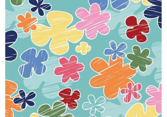 cartoon_spring_clip_art_flowers_background