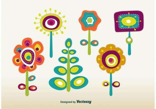 retro_spring_flowers