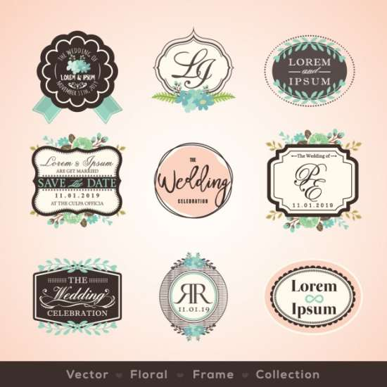 vintage_wedding_badges