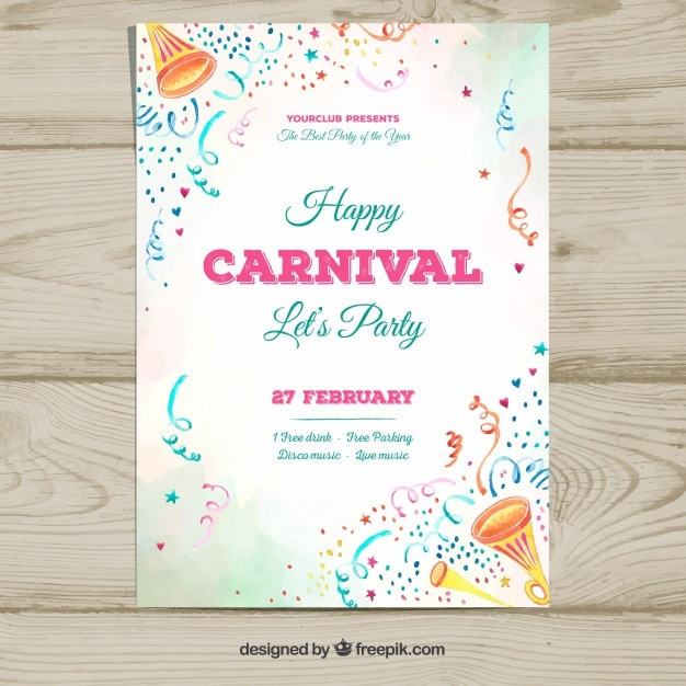 white_carnival_party_flyer_template