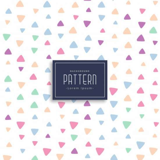 cute_triangle_patterns_vector_background