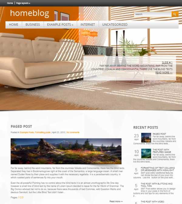 10 absolutely free interior design wordpress themes xdesigns for Interior design wordpress theme