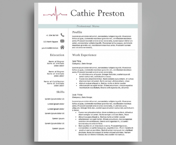professional_nurse_resume_template