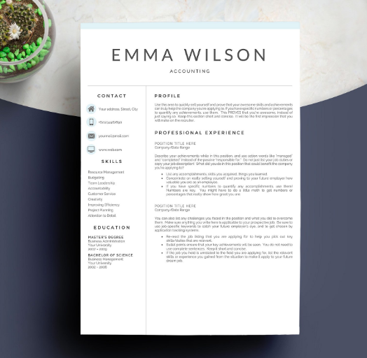 5_pages_of_professional_resume_template