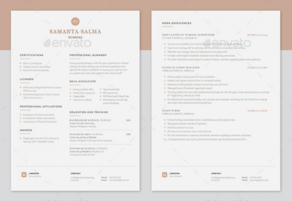 modern_nurse_resume_template