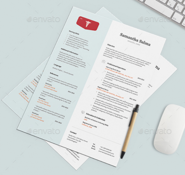 a4_nurse_resume_template_psd_word