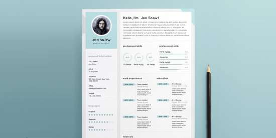 clean_resume_cv_template_psd