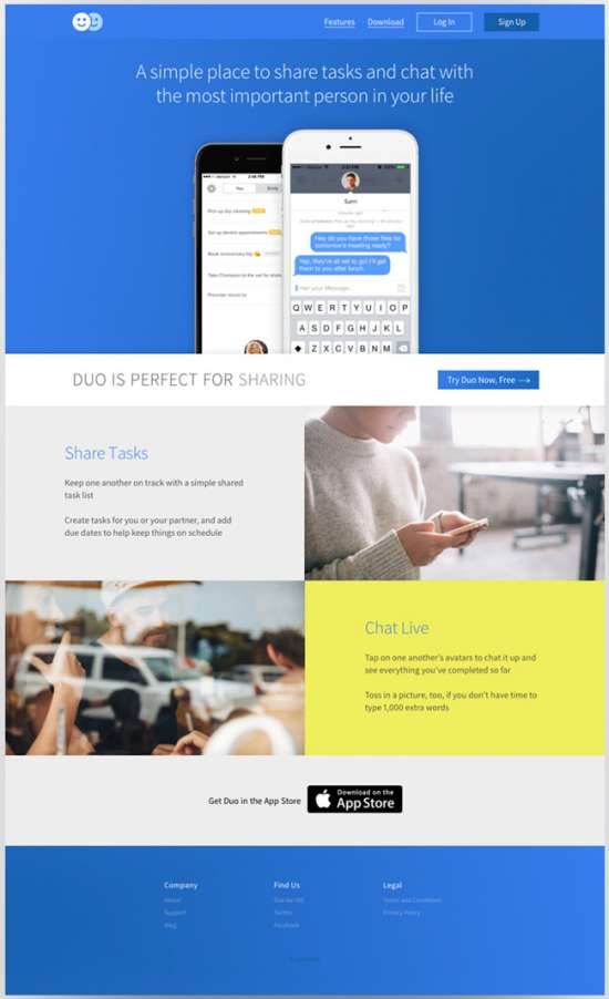 duo_html5_app_landing_page