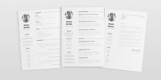 free_clean_and_minimal_resume_template_ai
