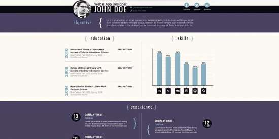 free_corporate_resume_psd