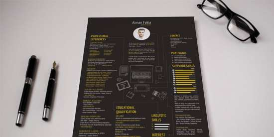 free_digital_resume_template