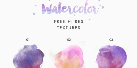 free_hi_res_watercolor_texture_kit_png_jpg