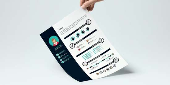 free_infographic_resume_template_ai