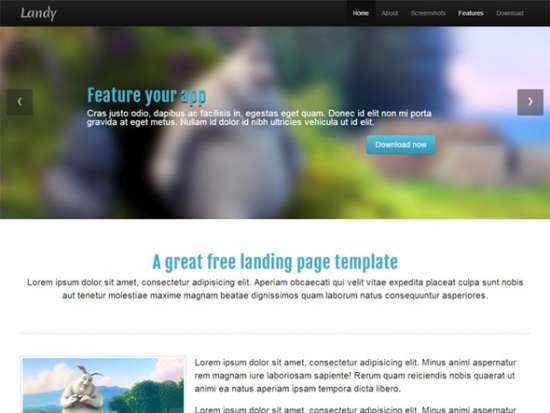 free_landing_page_template