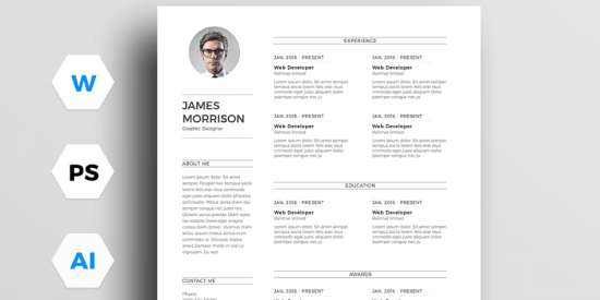 free_minimal_resume_template_ai_ms_word_psd