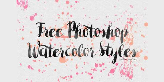 free_photoshop_watercolor_styles