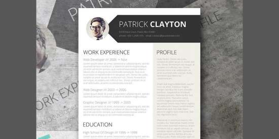 free_professional_resume_template_doc