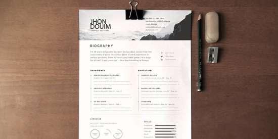 free_resume_psd