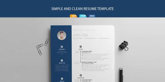 free_resume_template_ai_psd_docx_doc