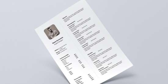 free_simple_resume_template_psd