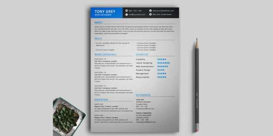 free_simple_resume_template_with_cover_letter_psd