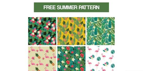 free_summer_pattern_ai_png_psd