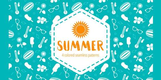 free_summer_seamless_patterns_ai_png_eps