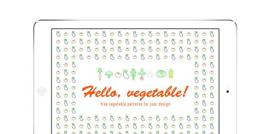 free_vegetable_vector_patterns_ai