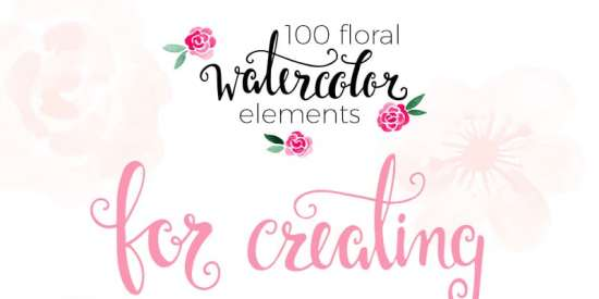 free_watercolor_floral_elements_png