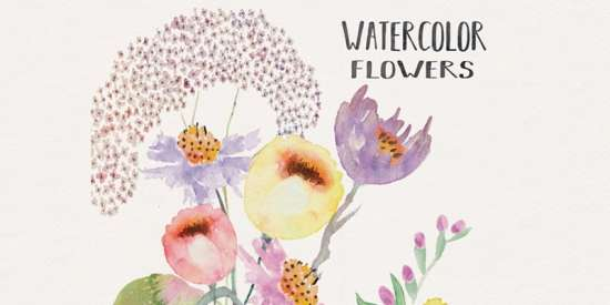 free_watercolor_flower_elements_png