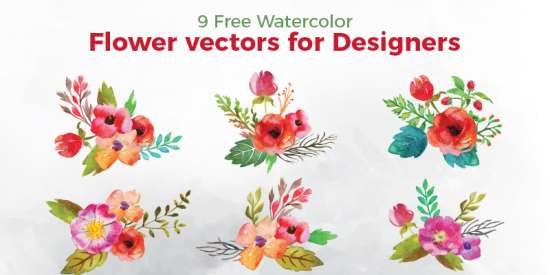 free_watercolor_flower_vectors_ai